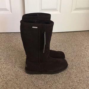 EMU brown tall waterproof Platium Sheepskin boot 7